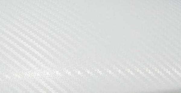 Carbon weiß 1,52 x Laufmeter