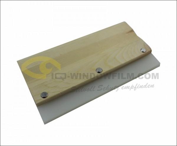 IQ-A1403, 21cm Gummirakel mit Holzgriff