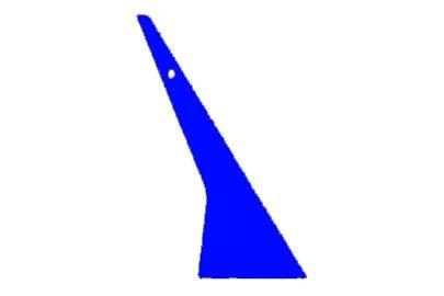 IQ-A212BL Blue Quickfoot Rakel